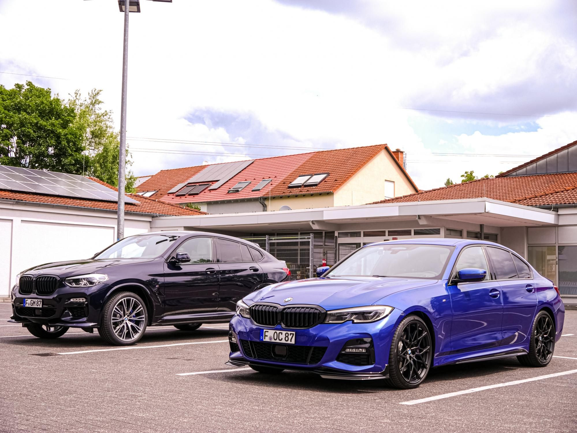 G20 In Portimao Blue With M Performance Parts Carbon With