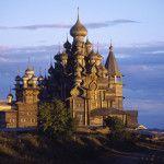 Iglesia de la Transfiguration Kizhi Island Karelia Rusia