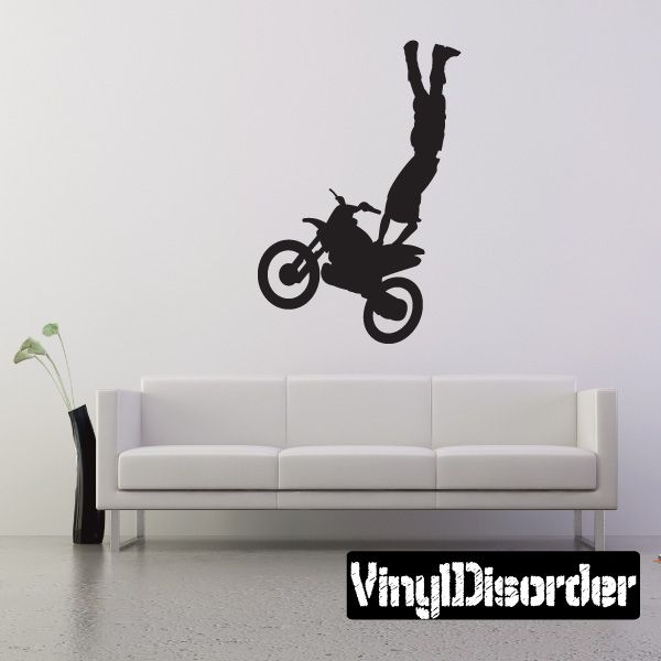 Dirt Bike Wall Decal Vinyl Decal Car Decal 001 Dirt biking