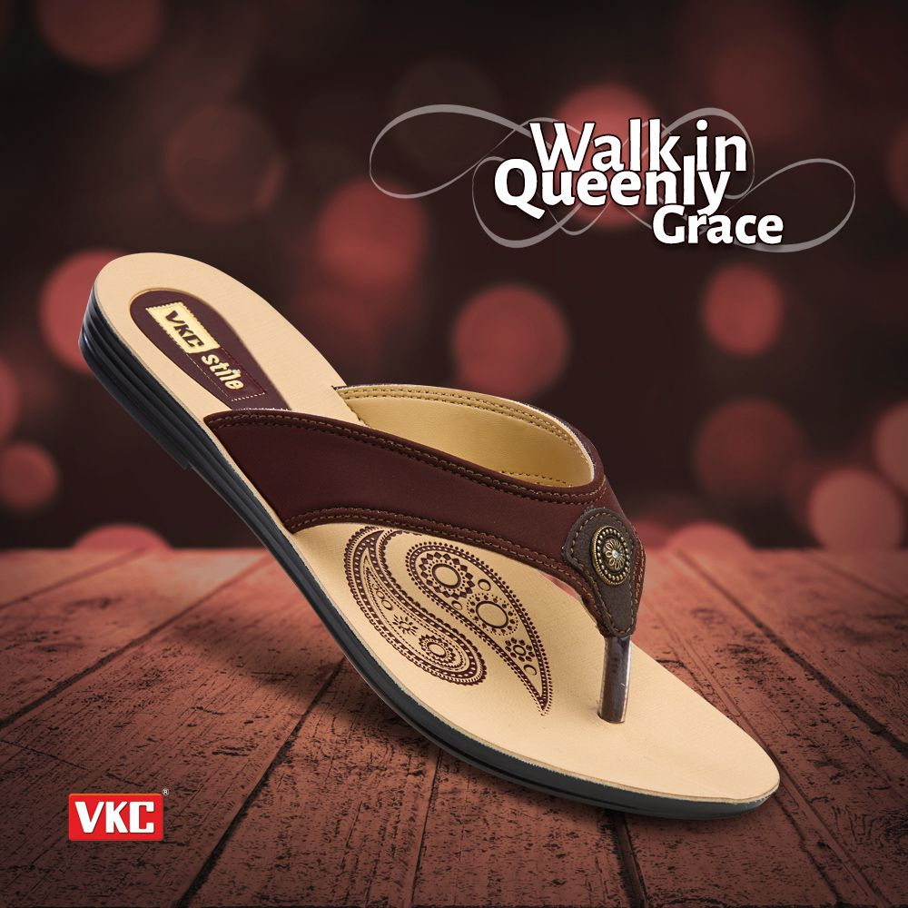 39b11d0e8 Brace your path with the queenly steps.(Art no: 2197) #vkc #footwear  #design #fashionable