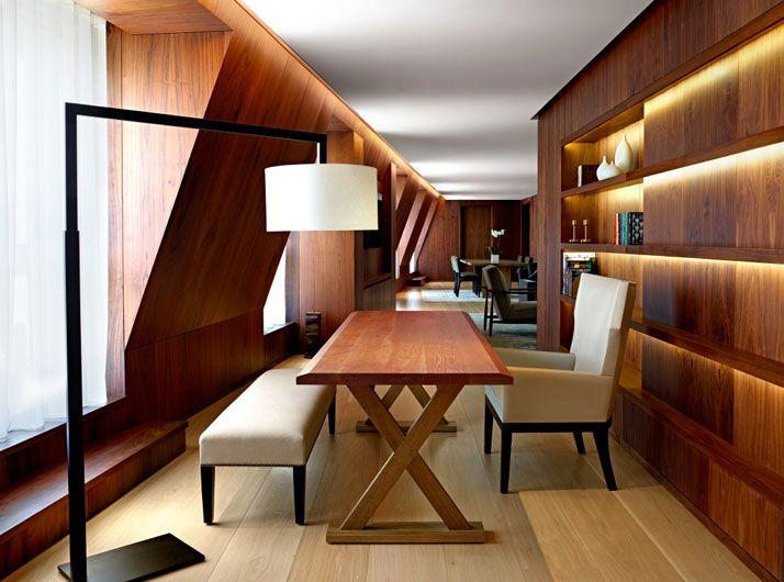 Ufficio Legno Hotel : The london edition uffici