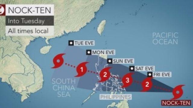 Un puissant typhon menace le Noël philippin