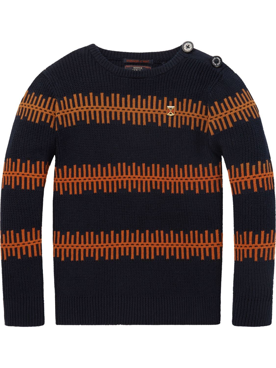 3cc29e0e0 Striped Sweater | Pullovers | Boys Clothing at Scotch & Soda | Style ...