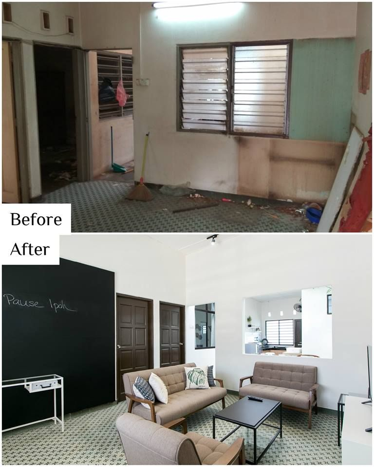 You Won T Believe What This Newly Renovated House In Ipoh Used To Look Like Small House Interior Design Old Home Remodel Old Home Renovation,Abandoned Amusement Parks Nj