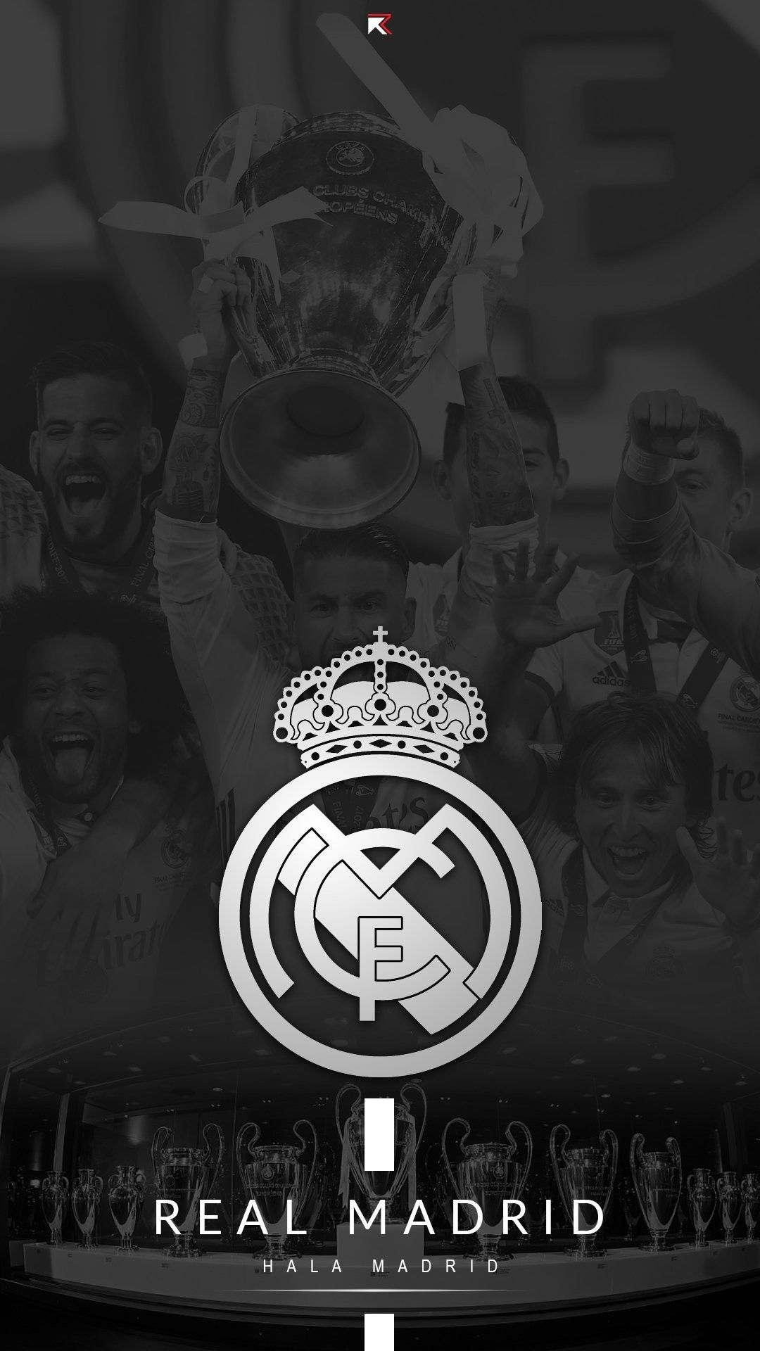 Lock Screen Real Madrid Wallpaper Iphone di 2020 Kertas