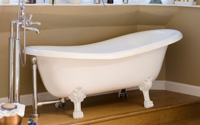 V A Roxburgh Englishcast White With Images Free Standing Bath