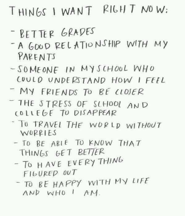 Things I want right now...