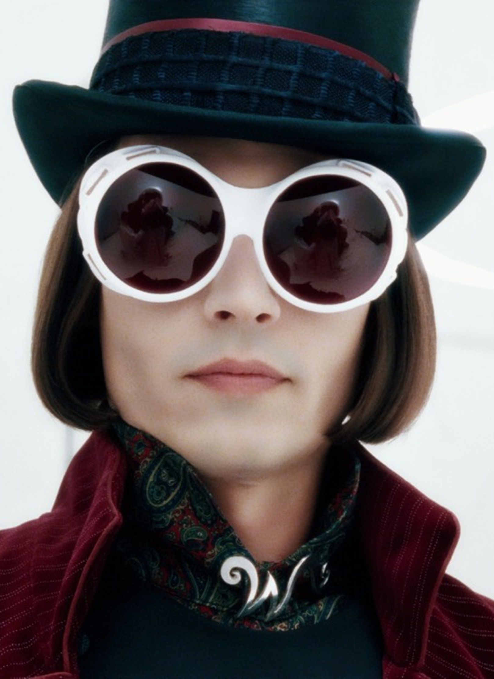 Johnny Depp as Willy Wonka in Charlie and the chocolate factory ...