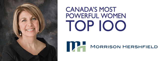 One of Canada's most powerful women, serves as a role model to female engineers Western University http://morrisonhershfield.com/blog/catherine-karakatsanis-canadas-most-powerful-women-2014/