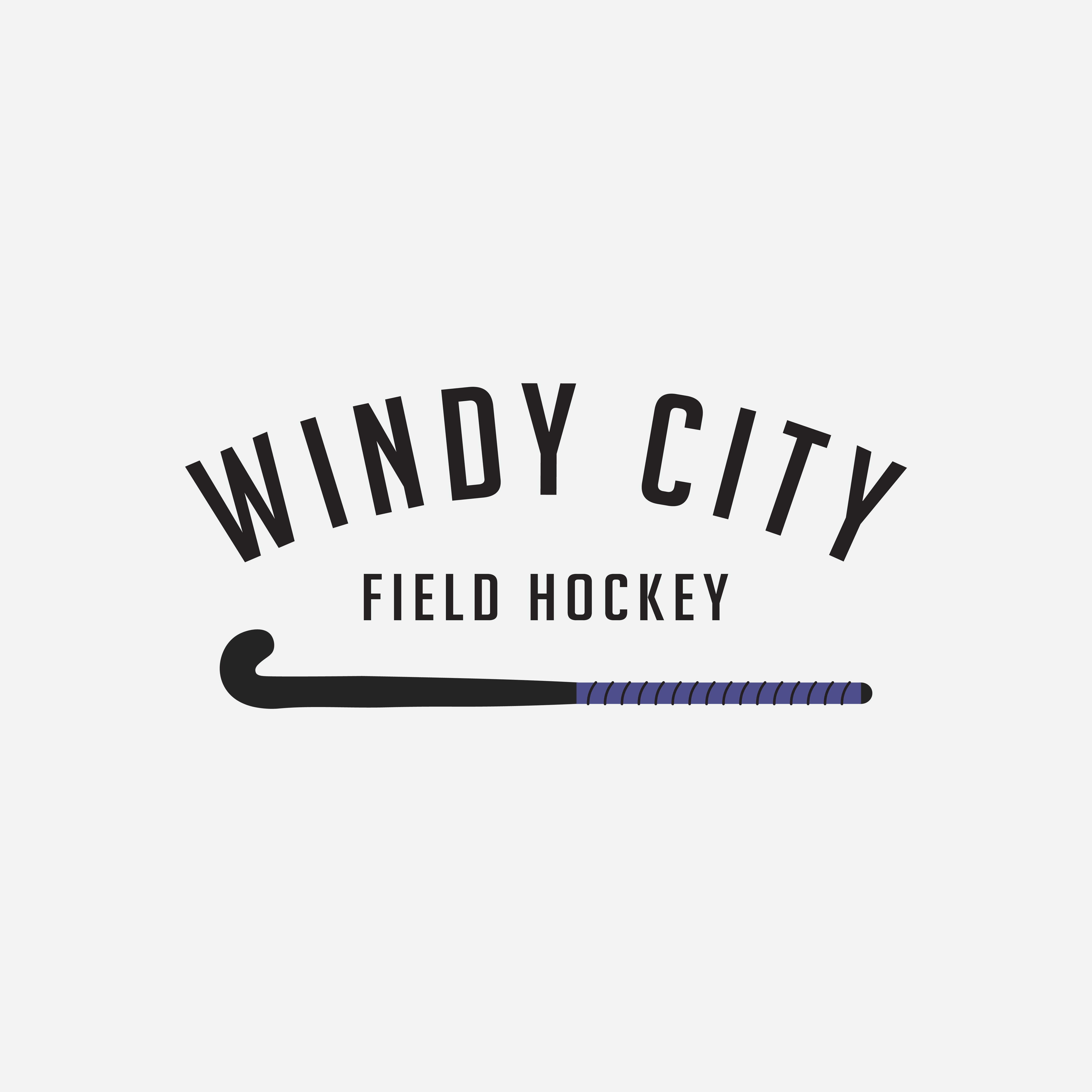 Windy City Field Hockey Logo Designed By Amari Creative Windycity Fieldhockey Amari Am Creative Branding Design Branding Design Studio Creative Branding