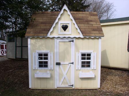 playhouse paint color & playhouse paint color | Playhouse Dream | Pinterest | Playhouses ...