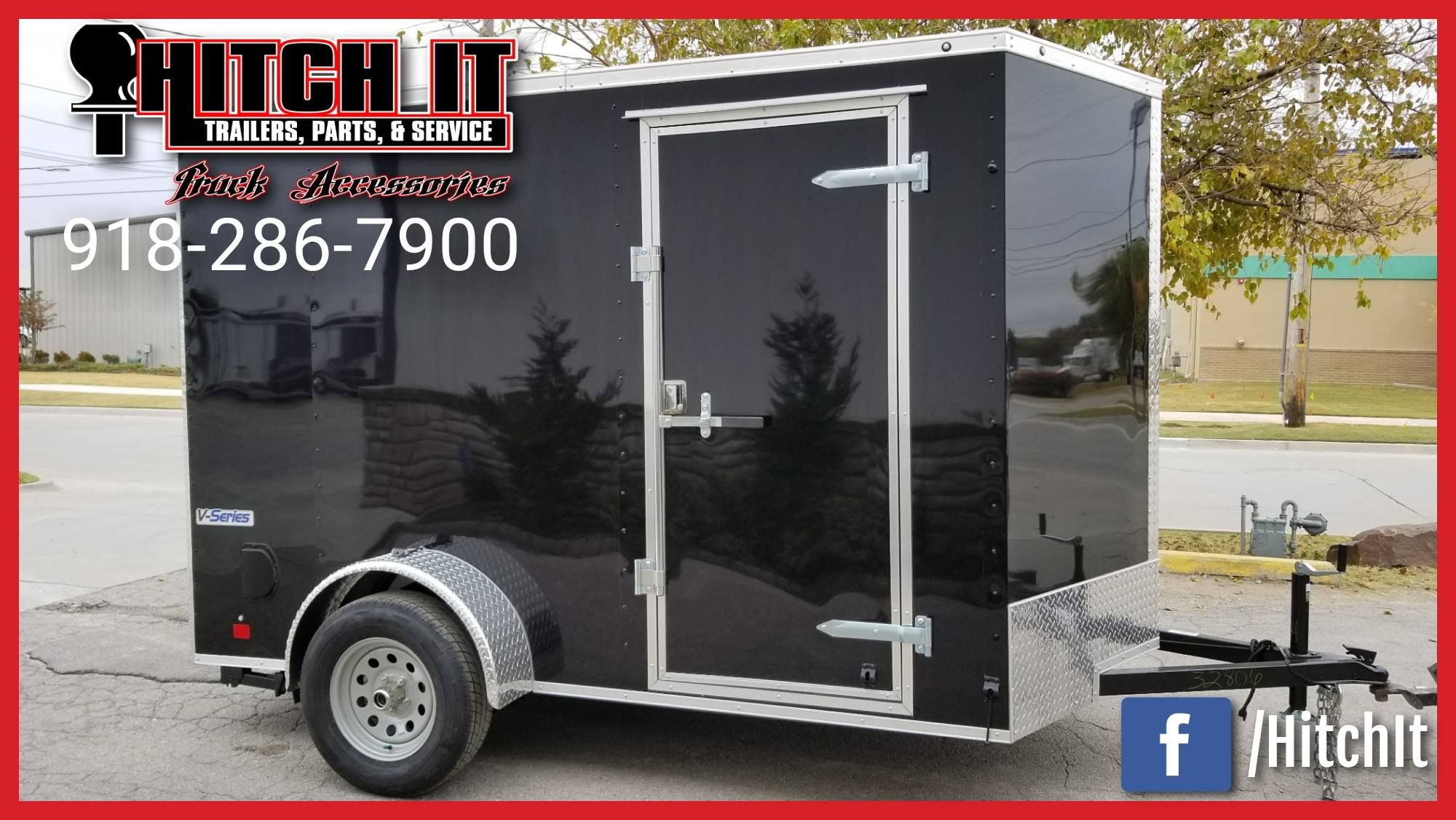 6 X 10 CONTINENTAL CARGO Hitch It Trailers Sales, Parts