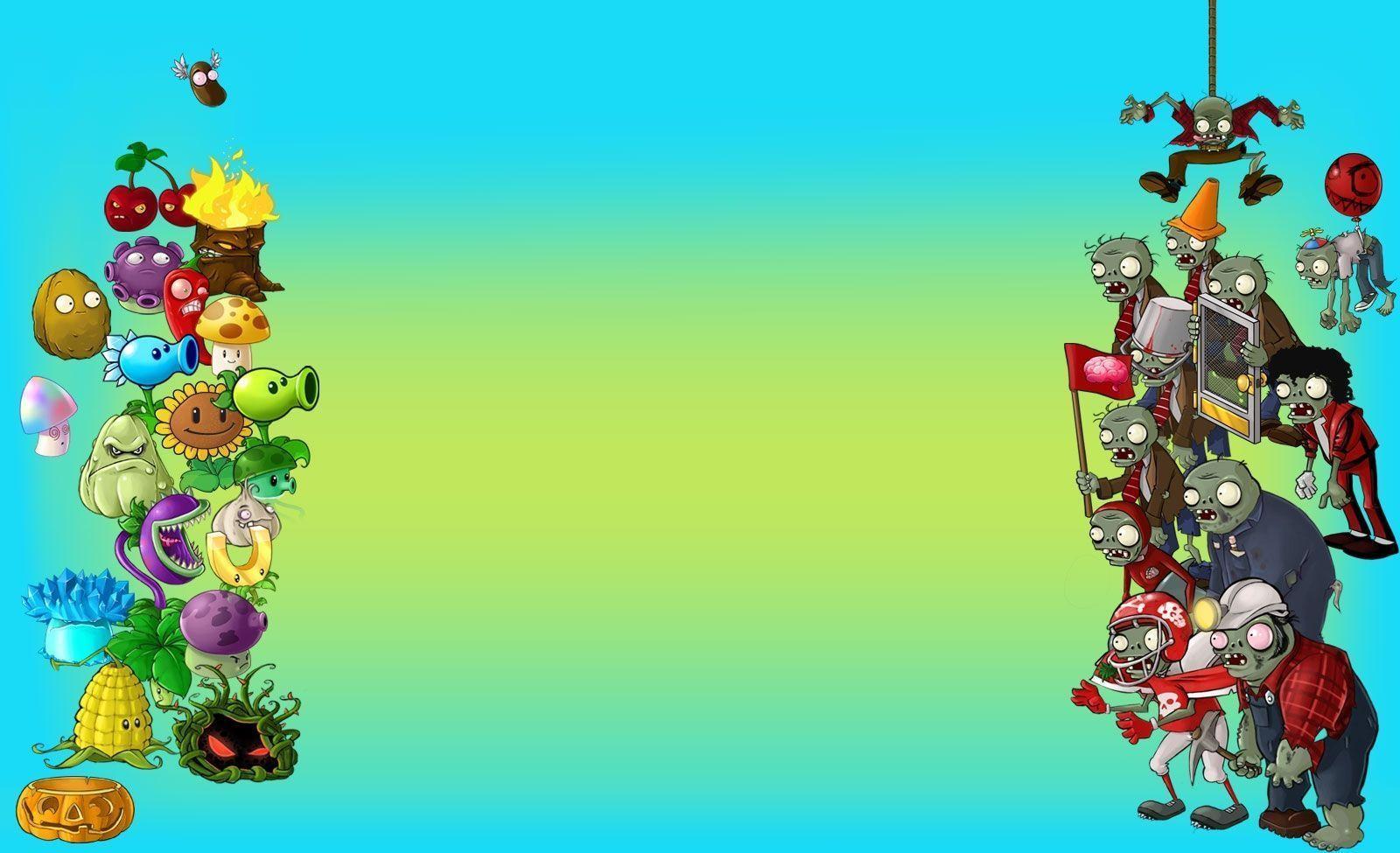 Fadbbfeade Free Templates With Plants Vs Zombies Invitation Template Saab4fun Com Zombie Wallpaper Plants Vs Zombies Birthday Party Plant Zombie