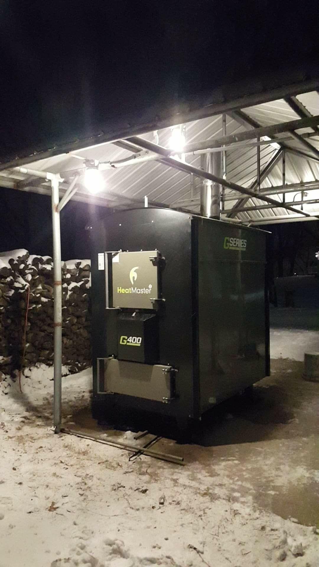 Outdoor Wood Boiler Heatmaster G400 Outdoor wood