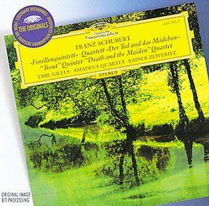 SCHUBERT Forellen-Quint. - Amadeus Quartet / Gilels - Deutsche Grammophon
