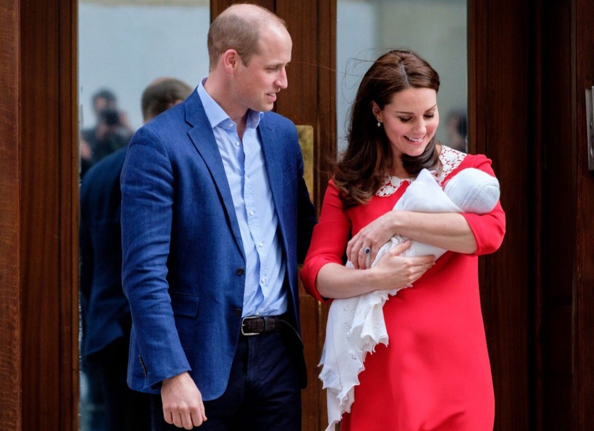 Prince William and Kate Middleton name son Louis Arthur Charles ...