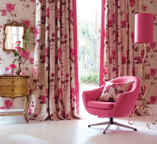 Розовый интерьер | Интерьер. Розовый | Pinterest