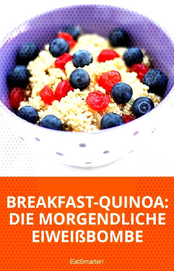 Frühstücks-Quinoa Die Frühstücksproteinbombe - Frühstücks-Quinoa Die Frühstücksproteinbo
