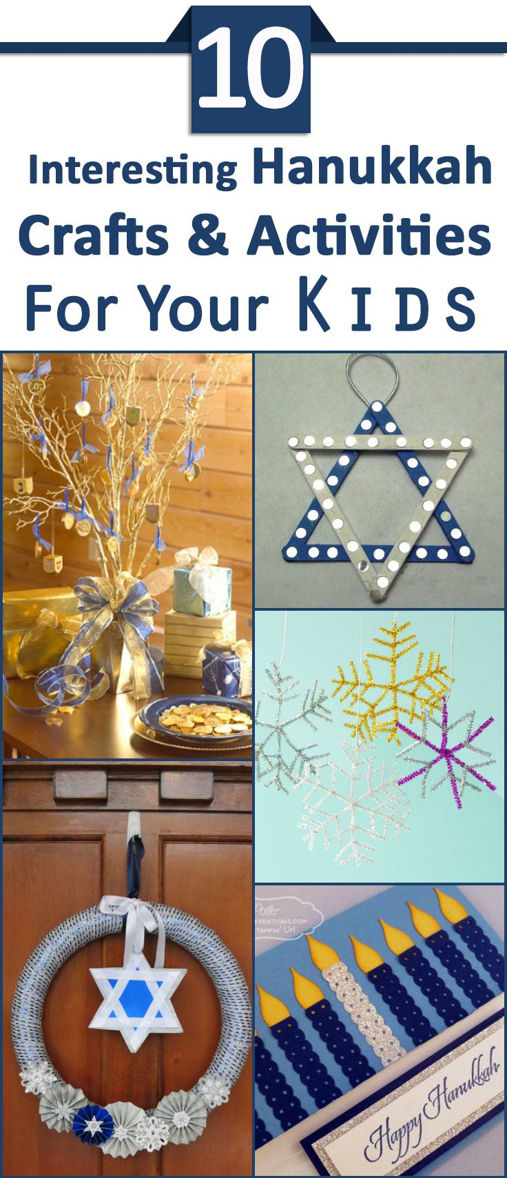 Top 10 Hanukkah Crafts And Activities For Kids