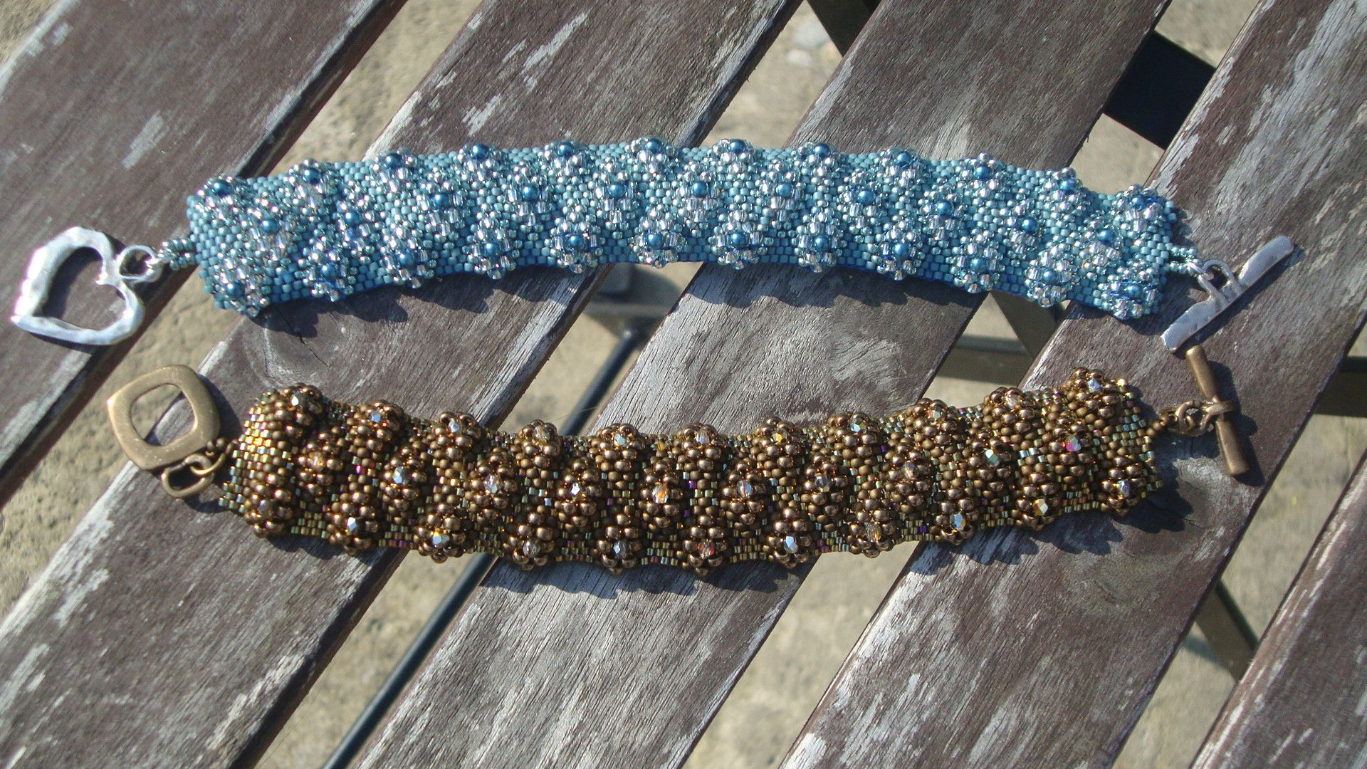 Bracelet checkered peyote my beaded work pinterest bracelets
