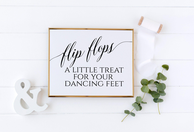 Wedding Flip Flops Sign Flip Flop Sign Printable Wedding Signs Dancing Shoes Sign Dance Floor Sign Flip Flops For Wedding Guests Diy1 With Images Printable Wedding Sign Wedding Signs