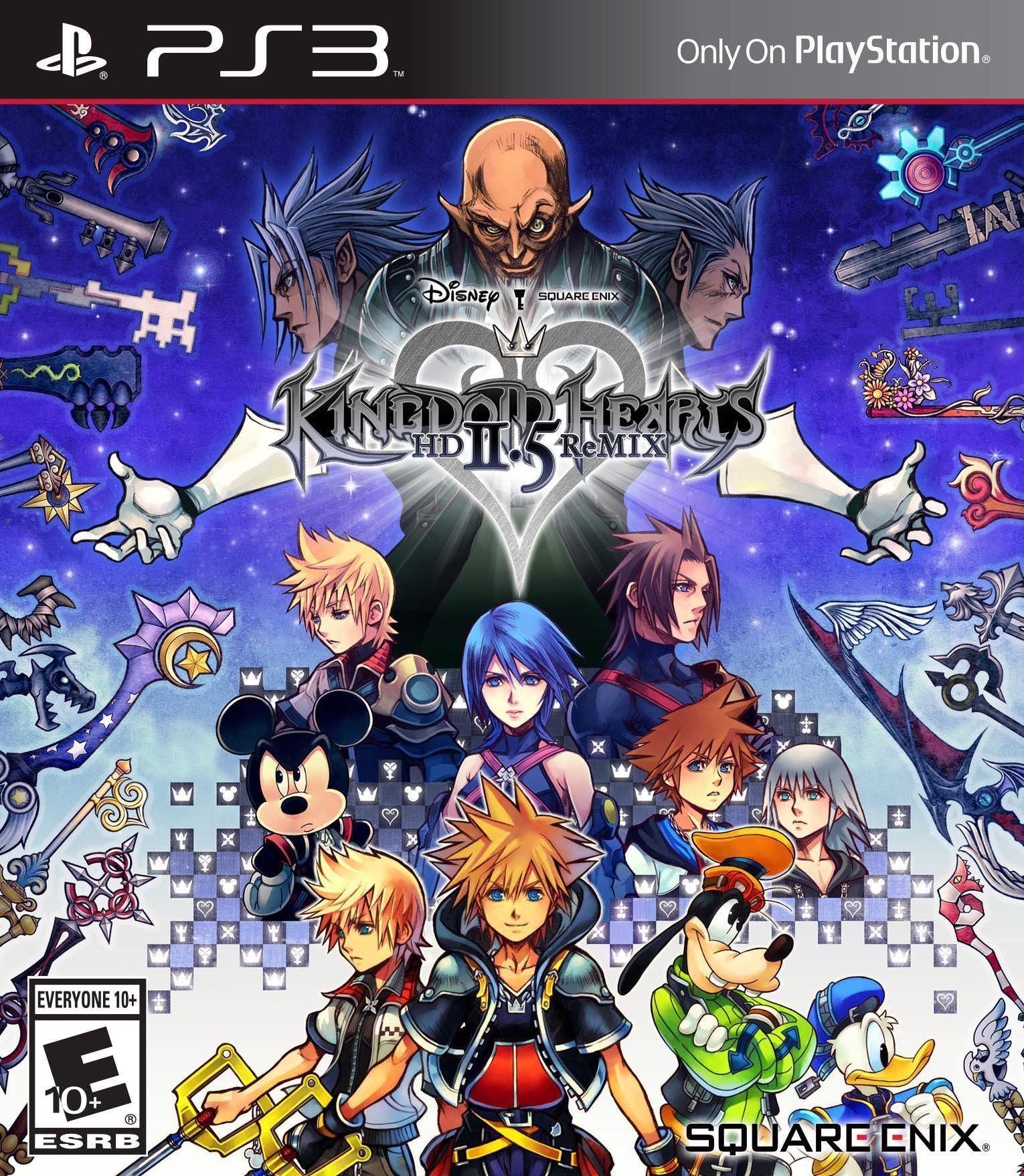Amazon Com Kingdom Hearts Hd 2 5 Remix Limited Edition Video Games Kingdom Hearts Hd Kingdom Hearts Characters Kingdom Hearts