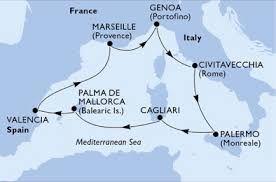 Resultado de imagen de mediterraneo occidental mapa