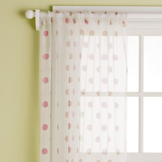 The Land Of Nod | Kidsu0027 Curtains: Kids Pink Polka