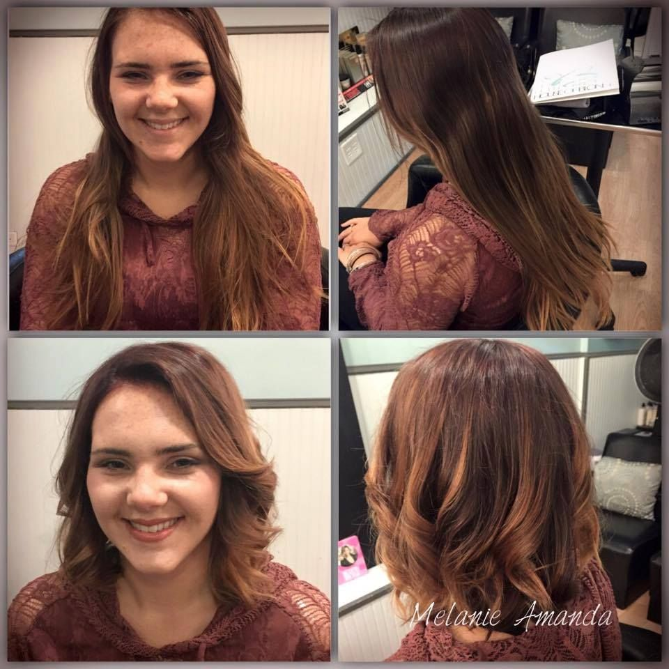 Melanies Guest Wanted A Fresh New Look With This Beautiful Ombre