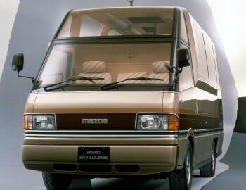 Mazda Bongo Brawny Sky Lounge Concept 1985 In 2020 Mazda Bongo Mazda Suv Car