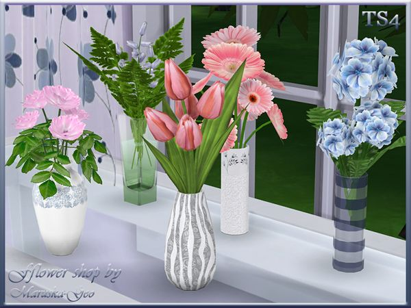 flower shop by maruska geo at tsr via sims 4 updates the sims 4 pinterest. Black Bedroom Furniture Sets. Home Design Ideas