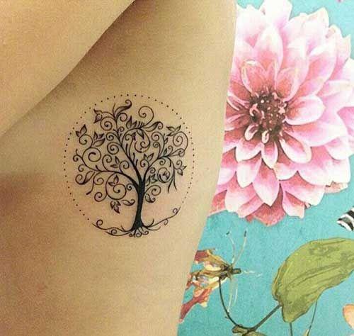 55 Fotos De Tatuagens De árvores Masculinasfemininas