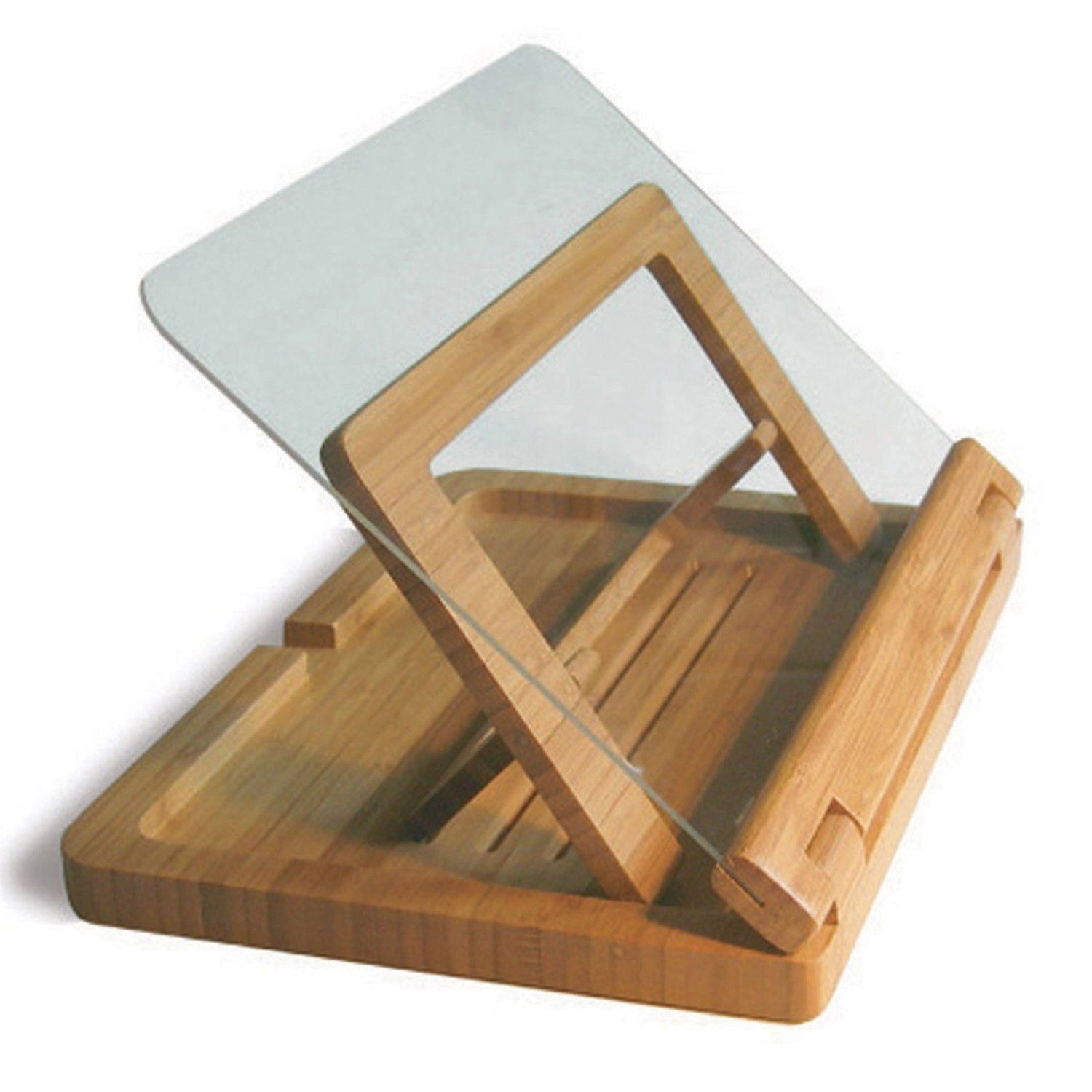 Bamboo Cook Book Holder I Need This Cookbook Holder Cookbook Holder Book Stands Wood Book Stand