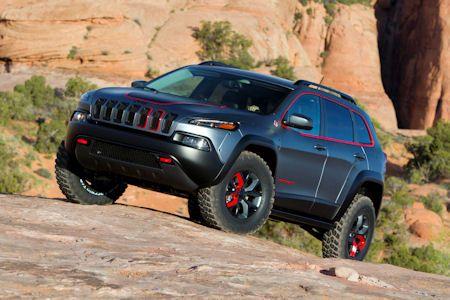 Jeep Cherokee Dakar Der Extremste Cherokee Aller Zeiten Jeep