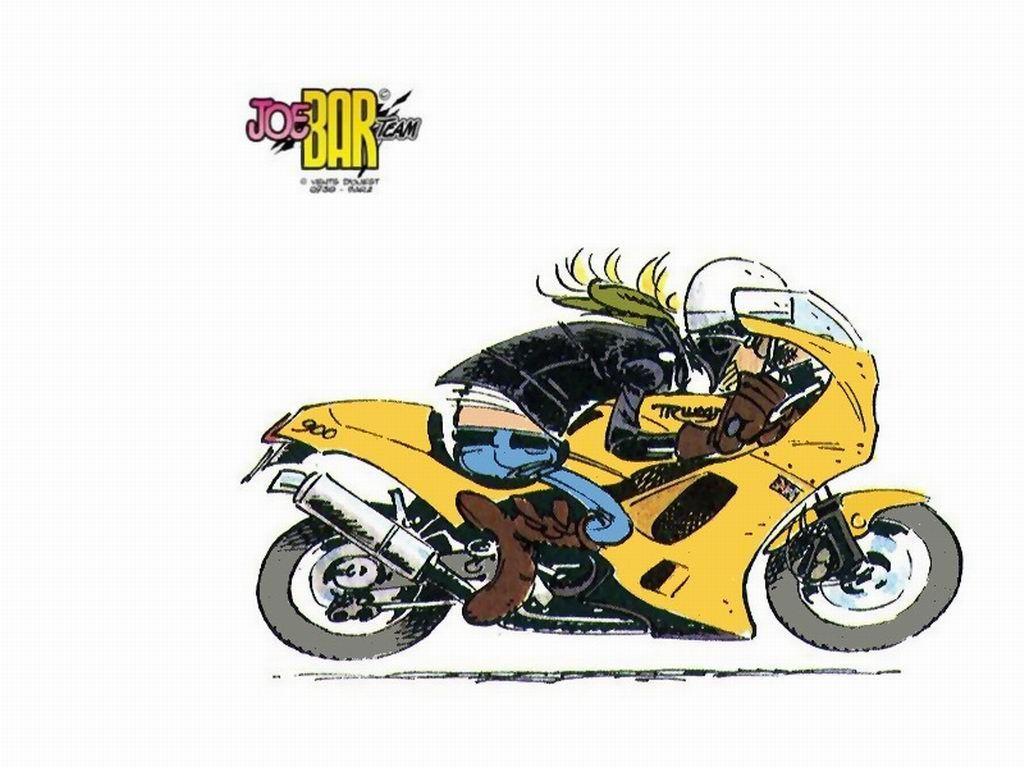 Pin de Martin Northern en Joe Bar Team Motos dibujos