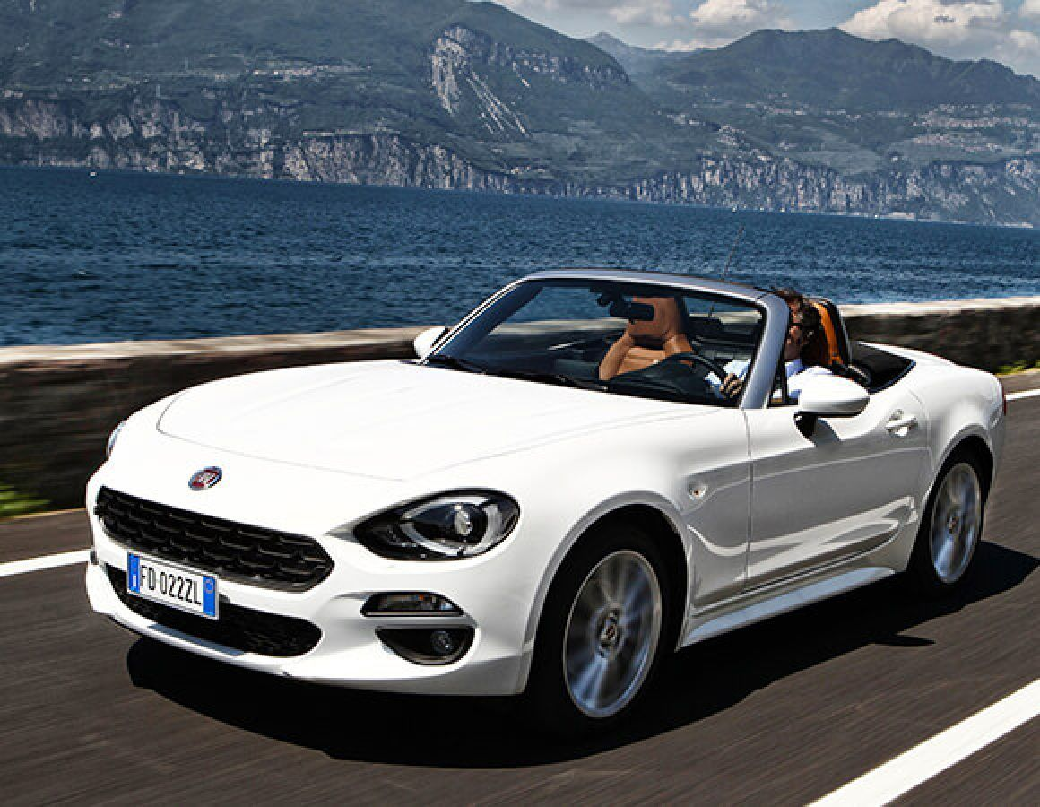 Superb The New Fiat 124 Spider: A Sports Car With An Iconic Design | Fiat