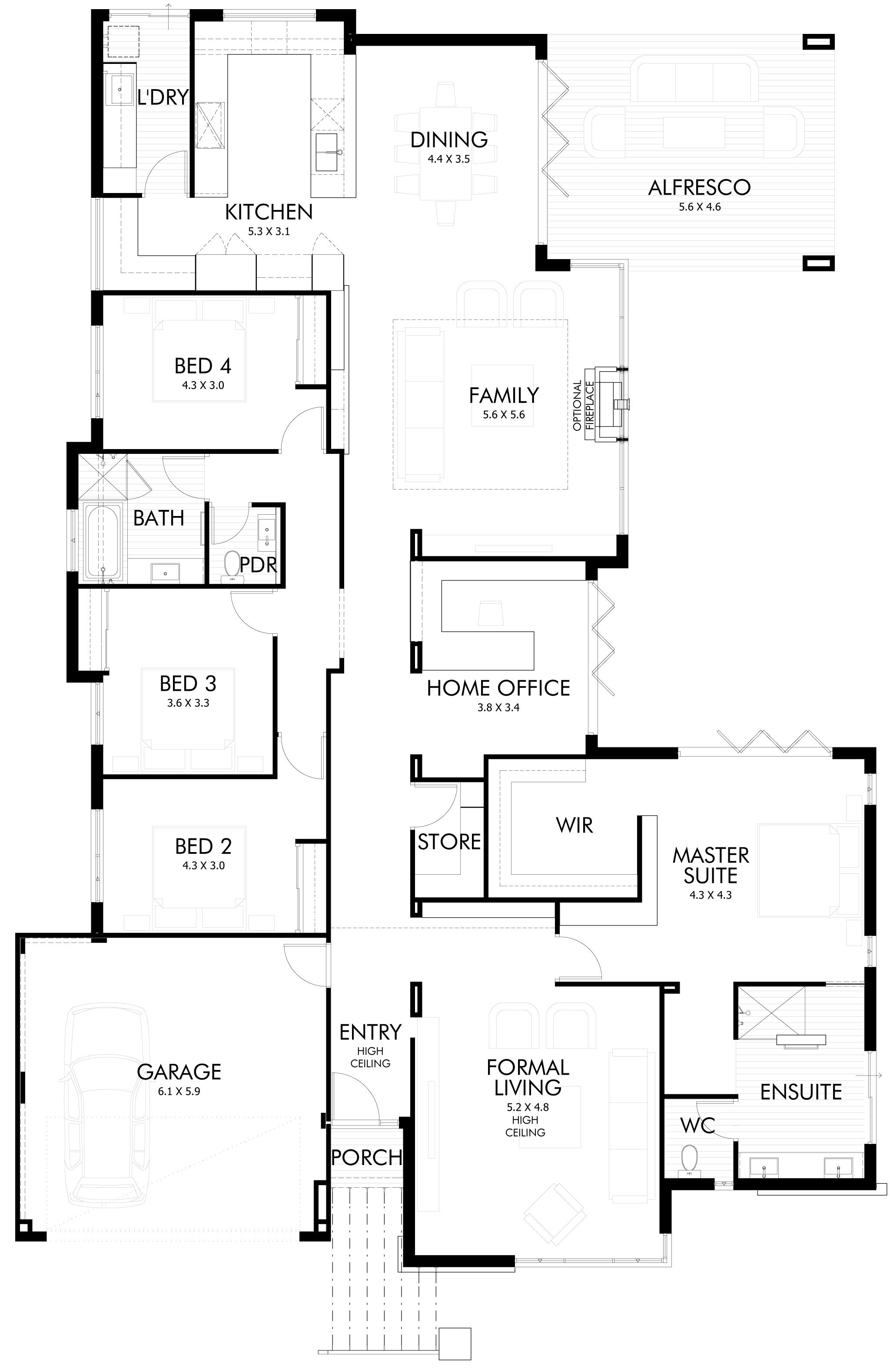 Floor Plan Friday Bifold Doors For The Entertainers Pool House Plans House Plans Floor Plans