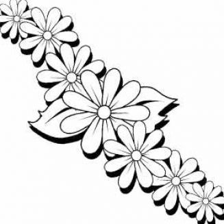 Online Printable Flowers Mike Folkerth