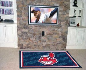 Cleveland Indians Area Rug - 5'x8'
