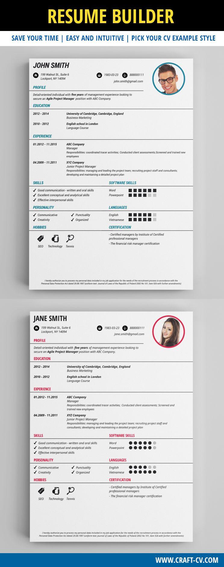 Free CV Template - Classic CV #freeresume #freecv #resume | Creative ...