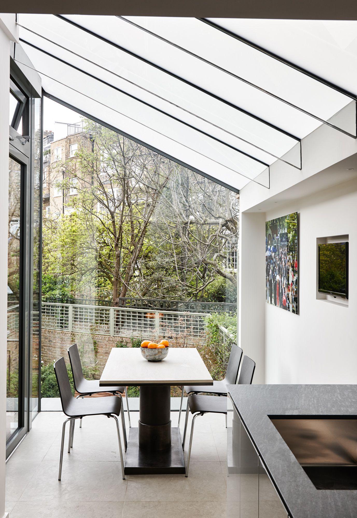 Trombe Internal Photo Of Structurally Glazed Modern