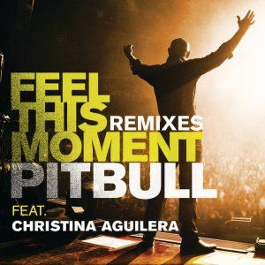 "for +today with ♪♪♪ ""Pitbuul ft Christina Aguilera"