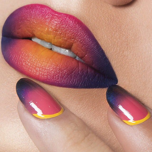 I forcefully requested this @occmakeup #liptar combo of Traffic, Queen & Vain ..so beautiful. (Thanks @dammitnichole & @dmpphoto ✌️) Follow OCC for daily lip & nail looks..I always look forward to seeing what's new on this beautiful mouth.  #makeup #occmakeup #nails
