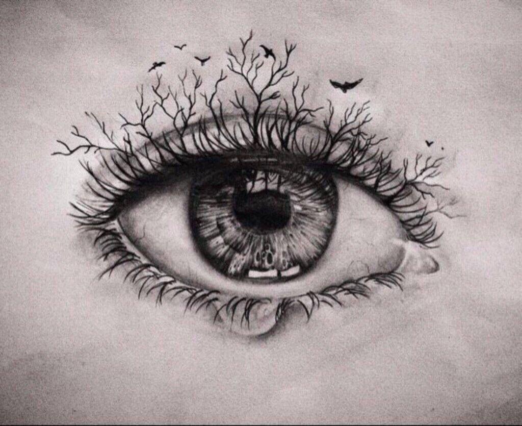 Pin by Misurata on 针管笔画 Eyes artwork, Eye sketch, Eye tattoo