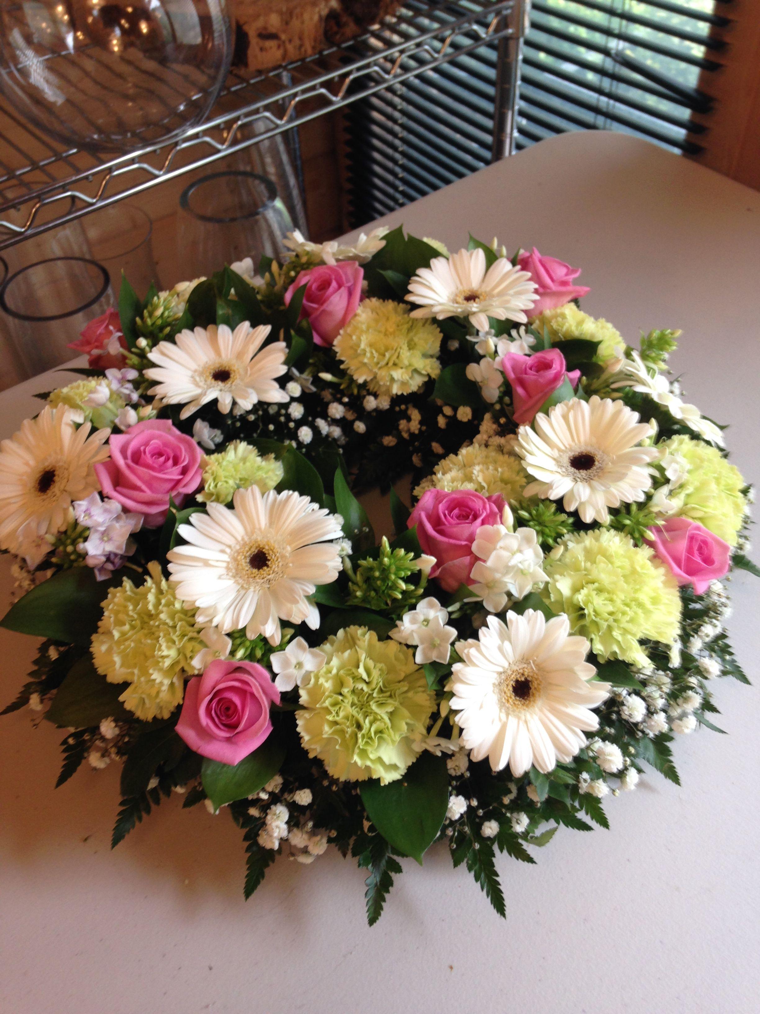 Pin by debra shearer on furneral plansflowers pinterest funeral funeral flowers floral arrangements flower arrangements flower arrangement floral wreath izmirmasajfo