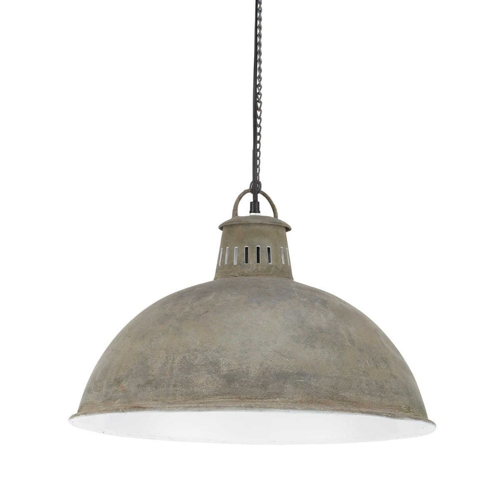 Industrie Hängelampe Industrial Style Aged Effect Metal Pendant D48 New Office