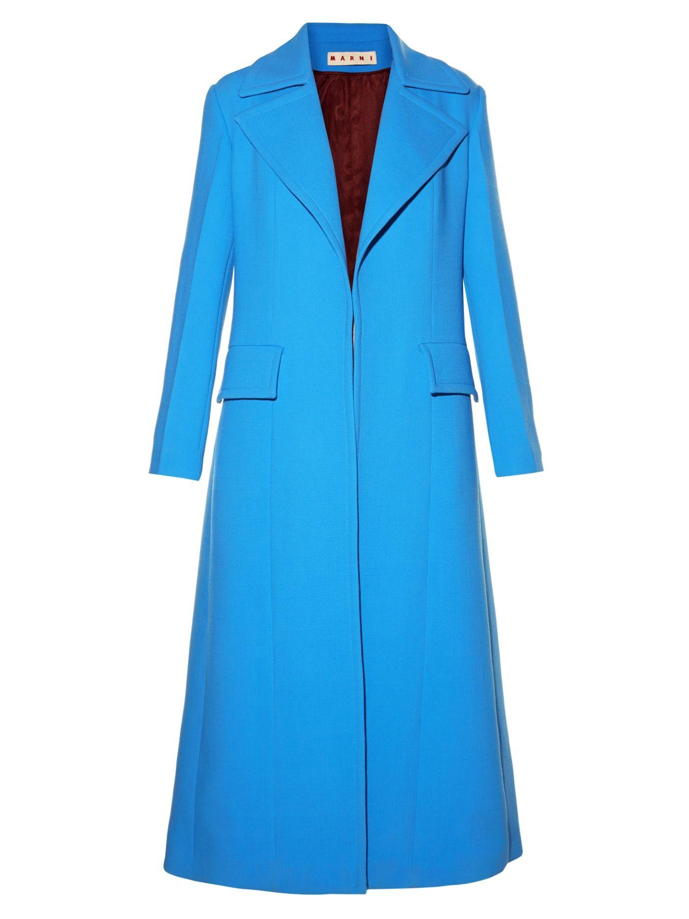 $1,998 Now$1,199 Save 40% Single-breasted long wool coat | Marni | MATCHESFASHION.COM US