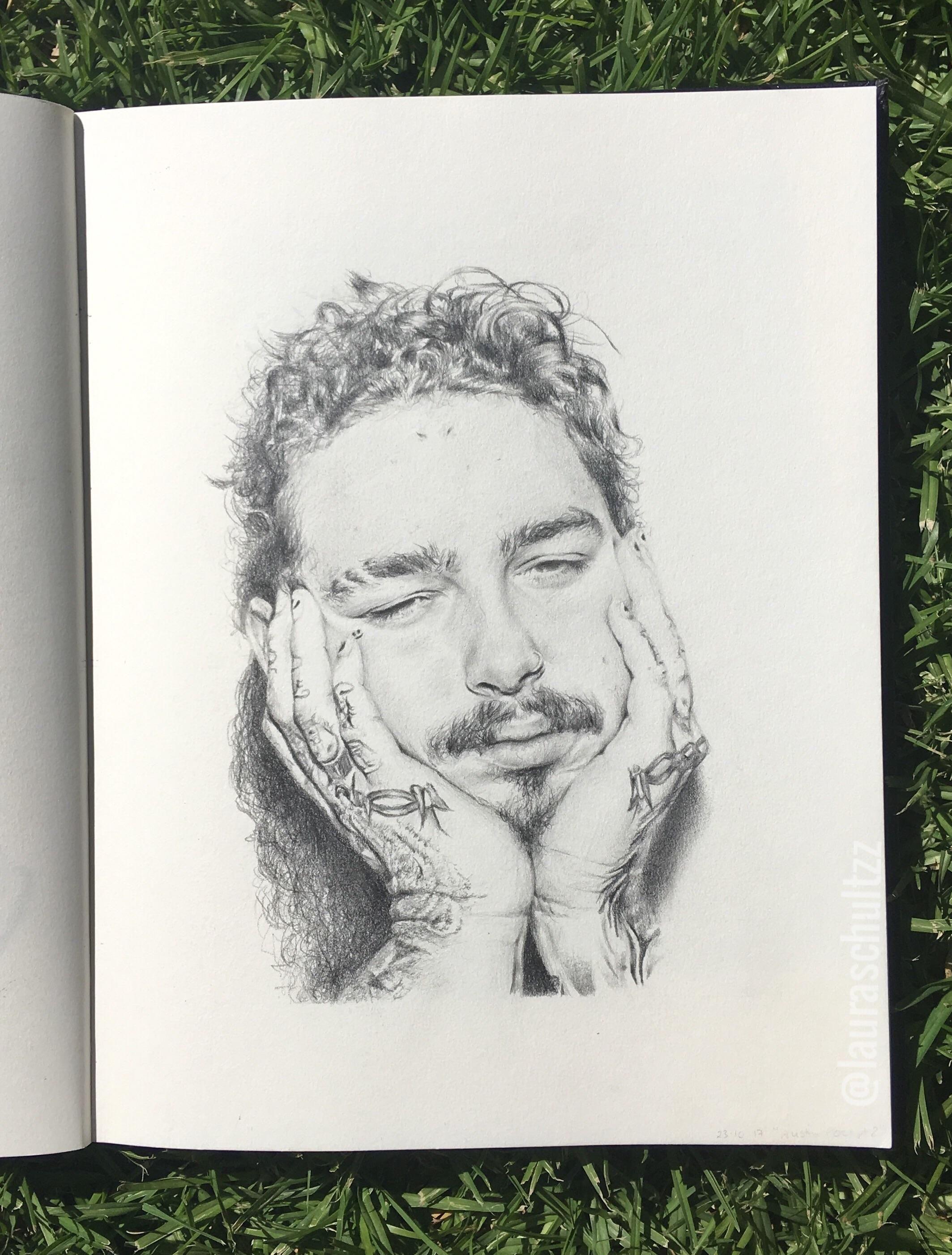 Post Malone Is My Jam Drawings In 2018 Pinterest Art