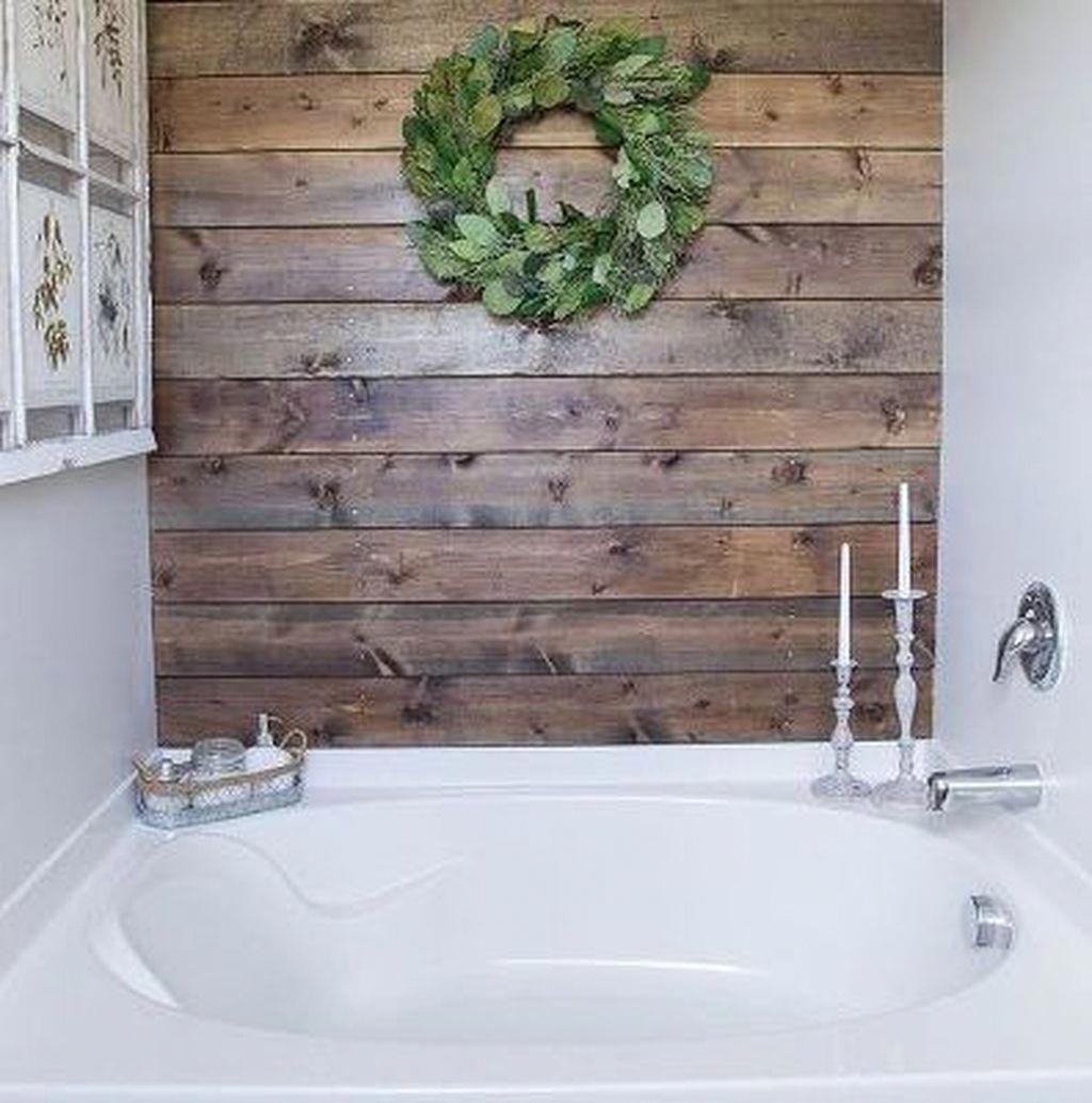 Cool 47 Amazing Joanna Gaines Bathroom Ideas