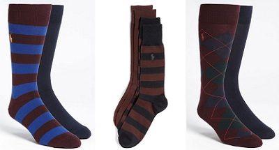 RL Rugby 2 pack socks